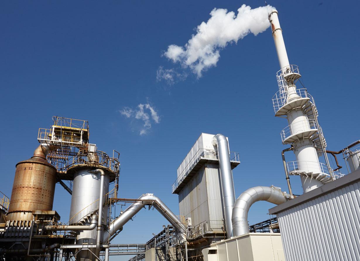 safty-排ガス処理施設
