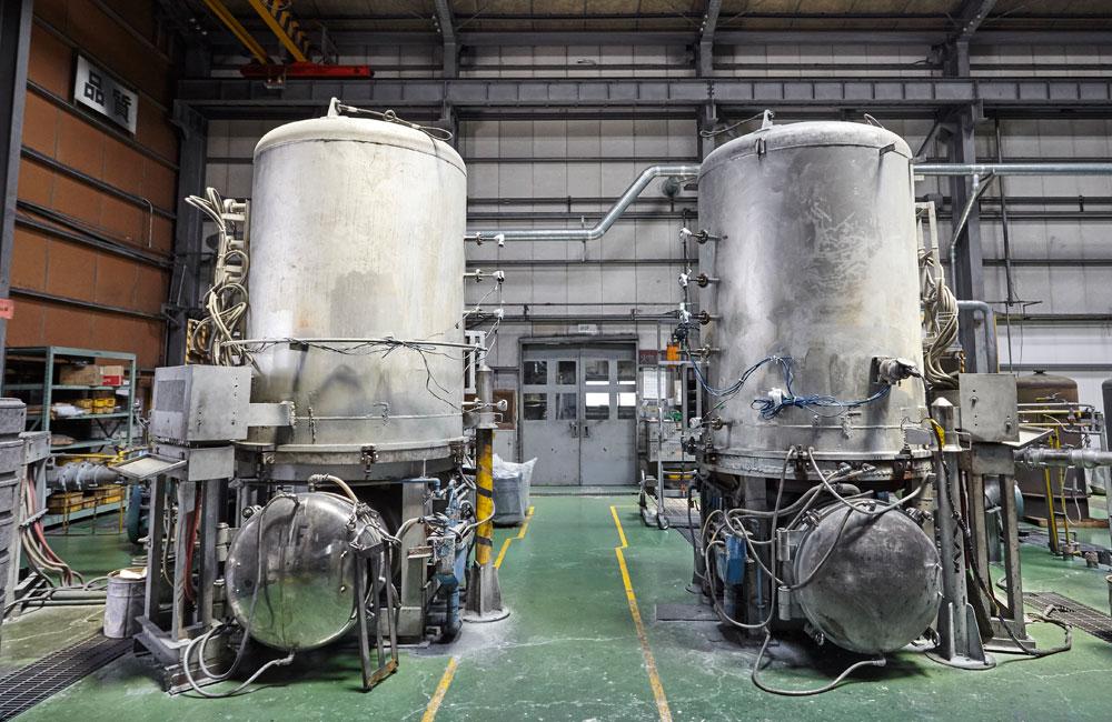 プロセス超硬-亜鉛処理